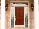 provia entry doors cherry