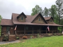 GAF-roof-on-log-cabin-Arvonia-VA