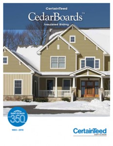 cedarboards insulated siding brochure