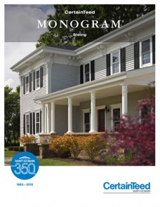 monogram siding brochure