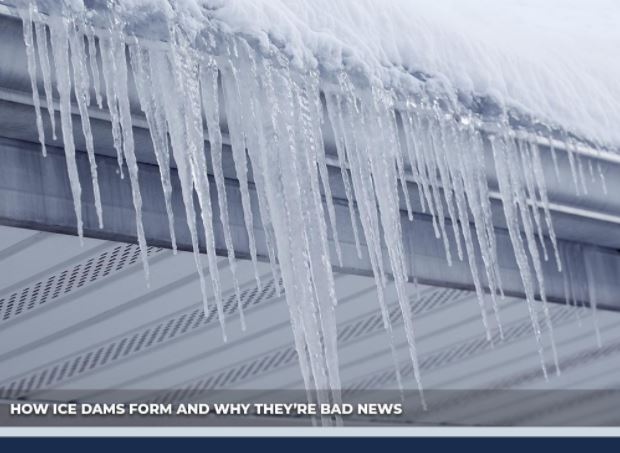 How Ice Dams Form And Why They Re Bad News