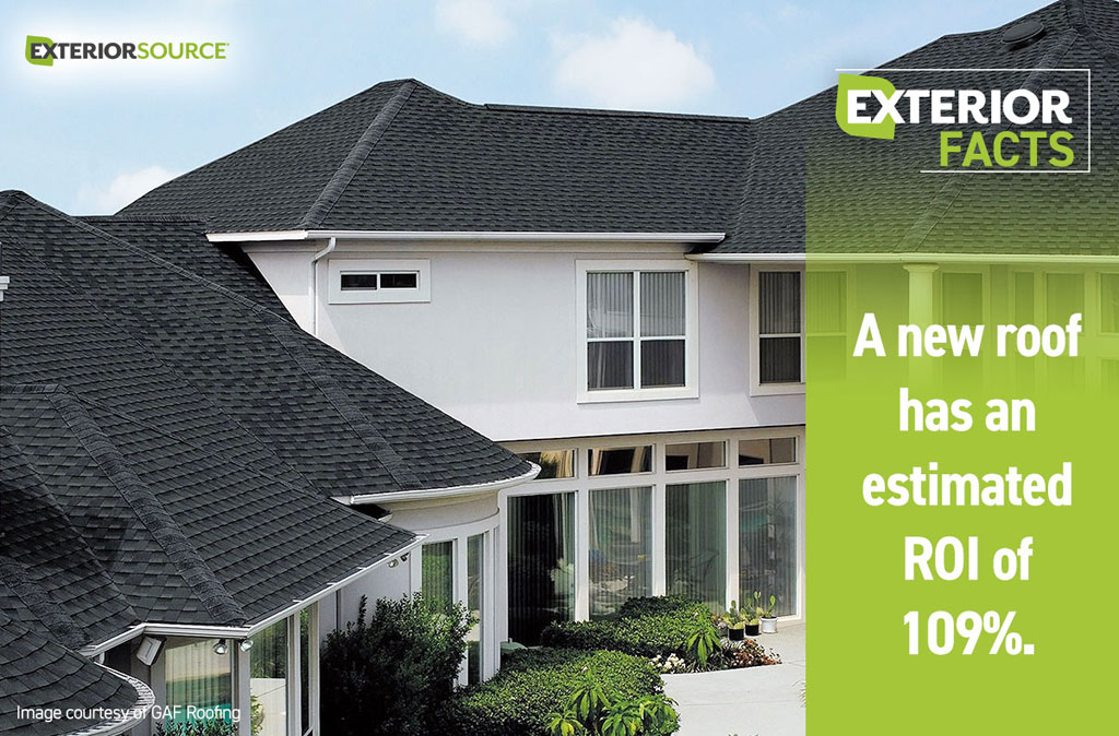 New Roof Return On Investment Exterior Source