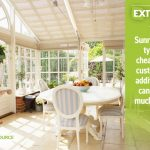 Sunrooms Are Typically Cheaper Than Custom Room Additions
