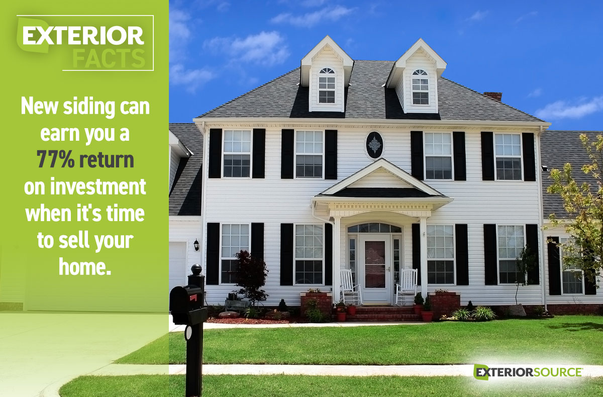 Earn A Higher Return On Your Investment With New Siding