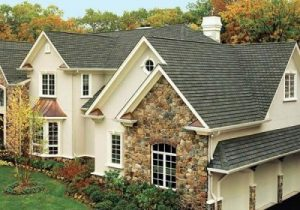 Beautiful home featuring a stunning asphalt shingle roofing system